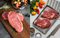 Natural American Wagyu Beef Portioned Assortment Steaks (4 pcs)