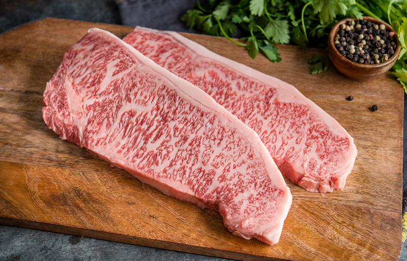 A5 Japanese Wagyu Beef Striploin Steaks | Authentic Japanese Wagyu Beef | The Wagyu Shop