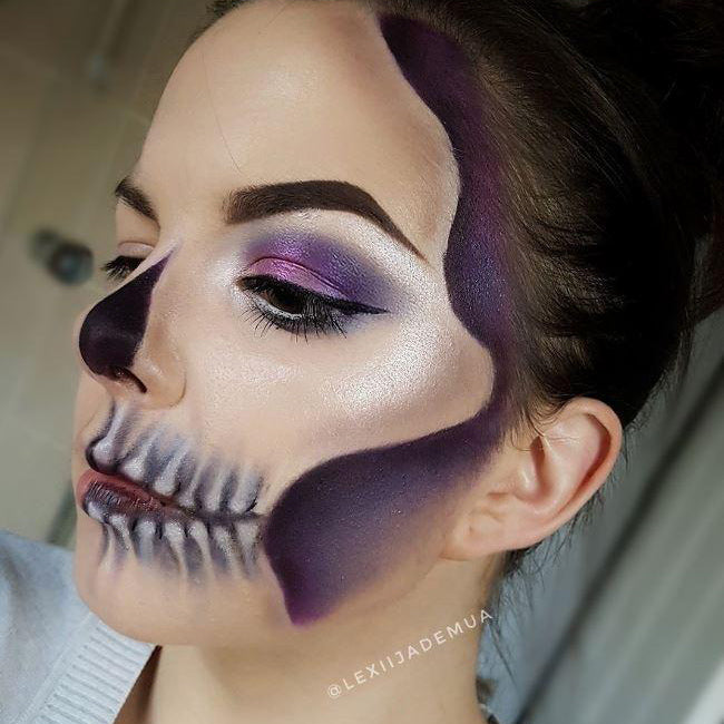 HALLOWEEN HOW-TO: GLAM SKULL