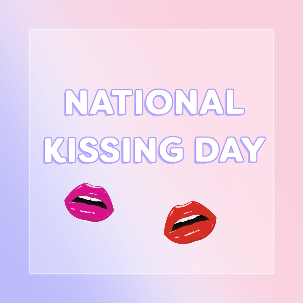 Pucker up, it's National Kissing Day!
