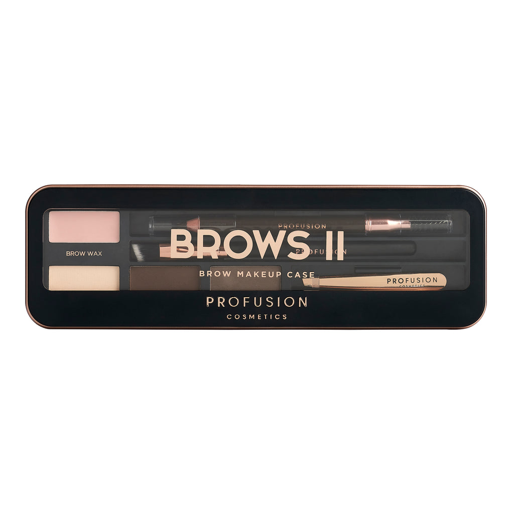 BROWS II | PRO MAKEUP CASE