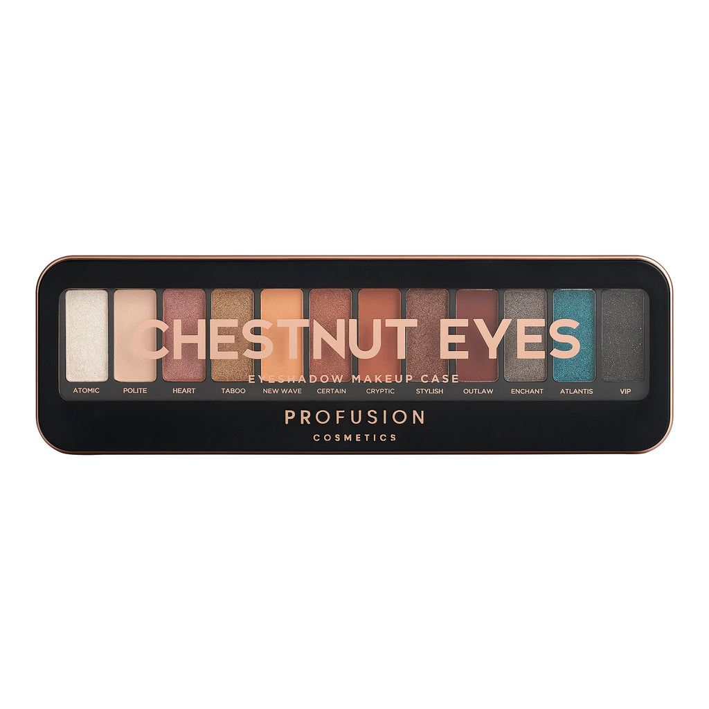 CHESTNUT EYES | MAKEUP CASE