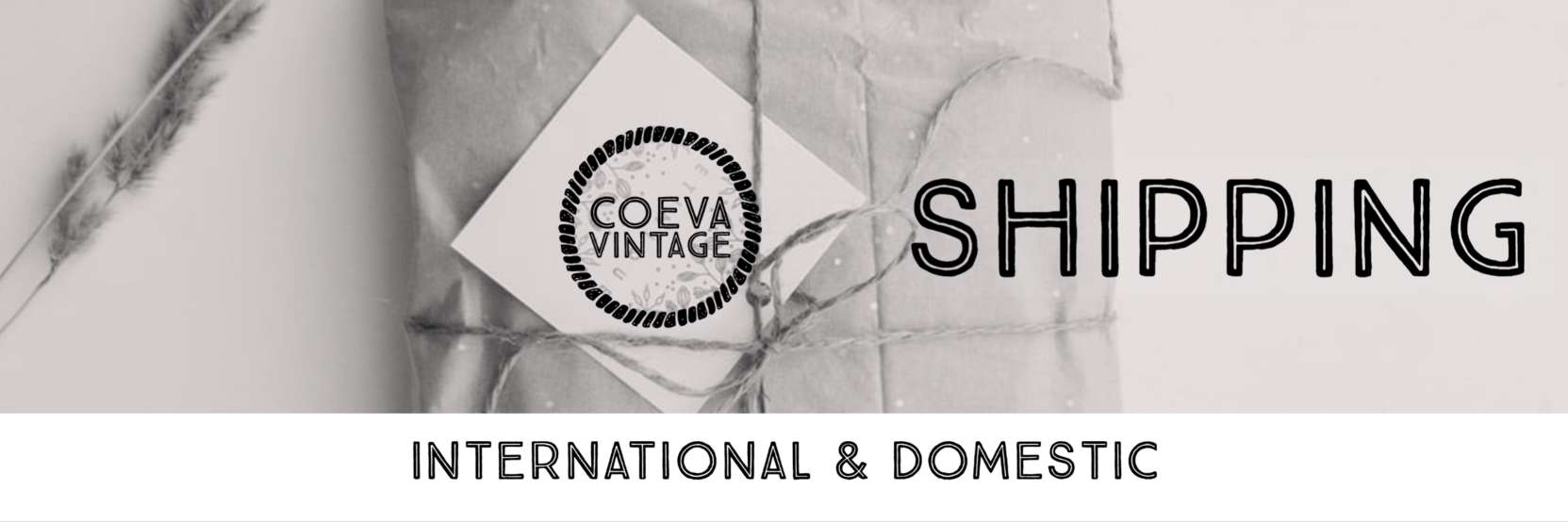 Coeva Vintage - Worldwide Shipping Available