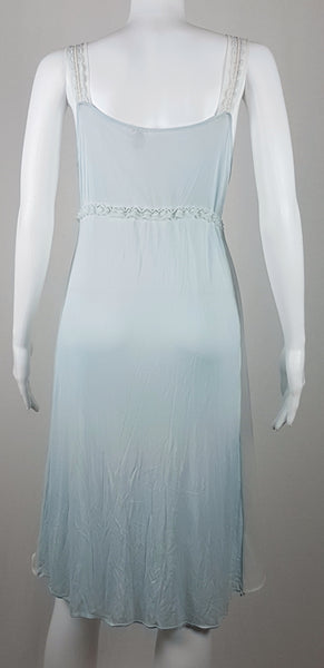 Vintage 1960's | Floaty Pastel Blue 'Aristocraft by Superior' Peignoir & Gown Set