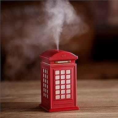 London Retro Red Telephone Booth Diffuser Humidifier