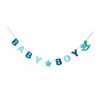 Gender Reveal Baby Shower Banner