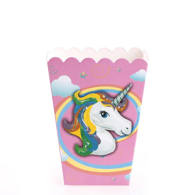 Unicorn Popcorn Box