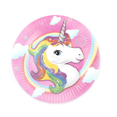 Unicorn Paper Plate 10pcs