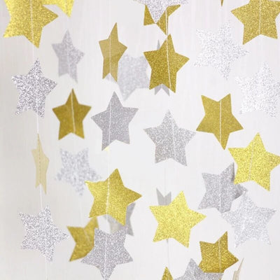 Star Paper Curtain