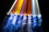 Light-painting tubes kit - 8 tubes + pouch