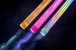 Holographic light-painting tubes KIT1 2x3 tubes + extender