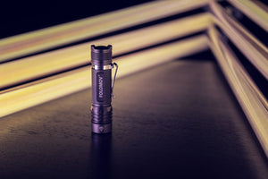 Starter flashlight for tube light-painting
