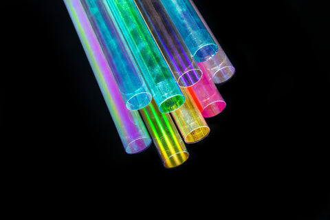 Holographic light-painting tubes - All of them! (9 tubes) + pouch