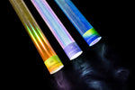 Holographic light-painting tubes KIT2 2x3 tubes + extender