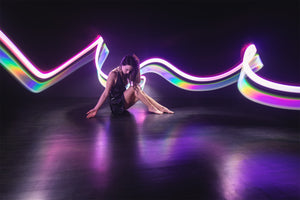 6 Small light-painting tubes (select any color!)