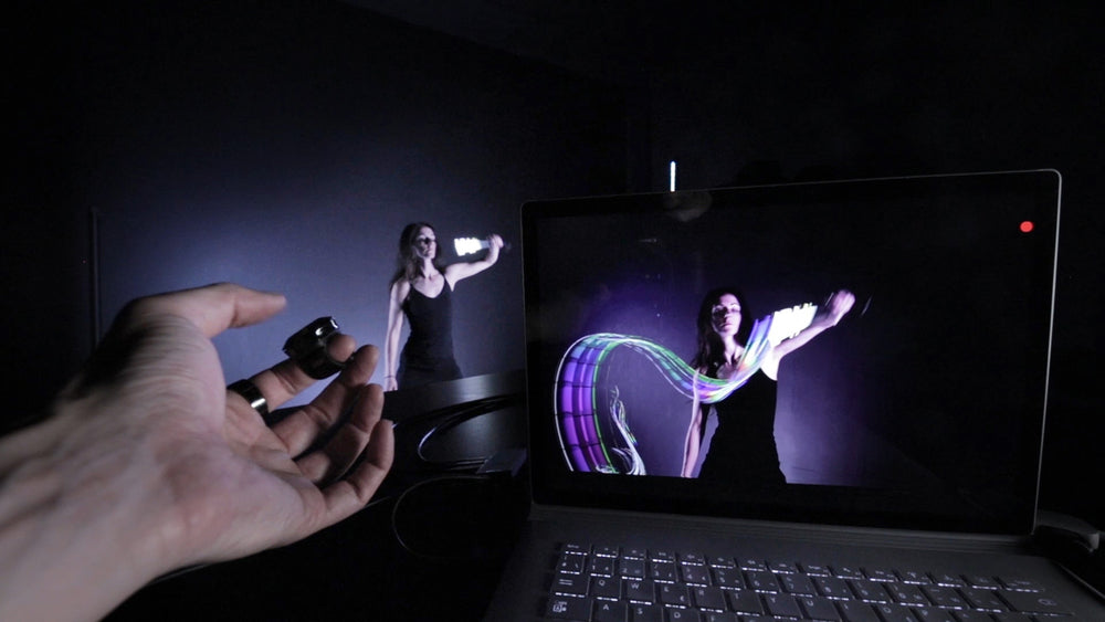 Virtual.ink - real-time video light-painting software