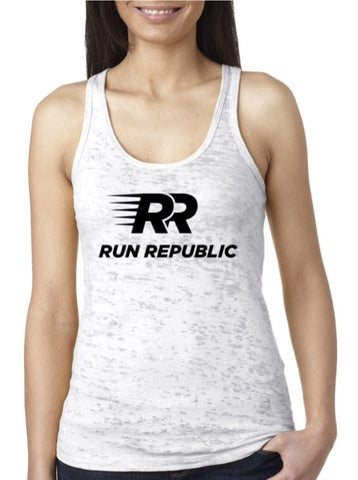 Run Republic Women's Burnout Tank - Run Republic