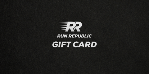 Run Republic promotional Gift Card active from 12/3/20 - 12/18/20 - Run Republic
