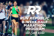 Full & Half Marathon 8-Week Training Programs - use promo code: COACHWESLIE - Run Republic