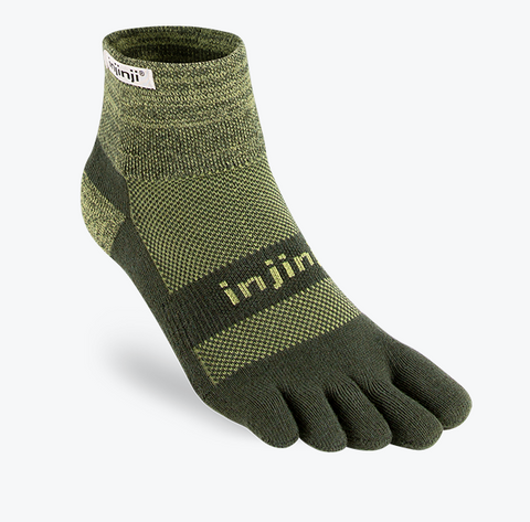 Trail Midweight Mini-Crew - Injinji - Run Republic