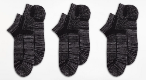 Inferno Merino Wool Blend Low Cut 3-Pack Sock - Run Republic