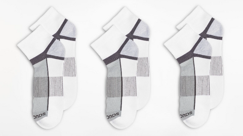 Inferno Quarter 3-Pack Socks - Run Republic