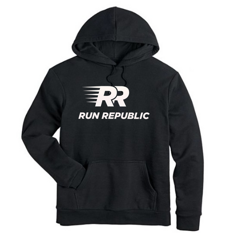 RR Men's Solid Hoodie - Run Republic