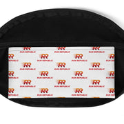 Fanny Pack - White Black Custom - Run Republic