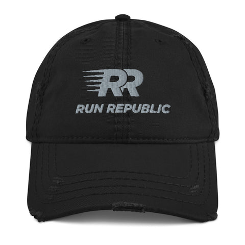 Distressed Dad Hat - Run Republic