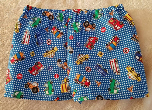 Cars & Trucks Shorts