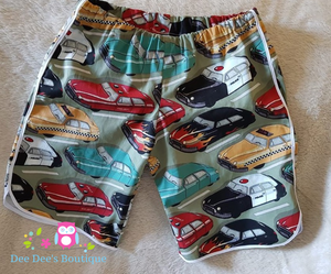 Car Racer Shorts