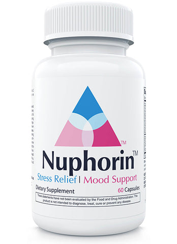 Nuphorin® Natural Anxiety Relief Supplement :: Professional-Grade Formula (60 Capsules)