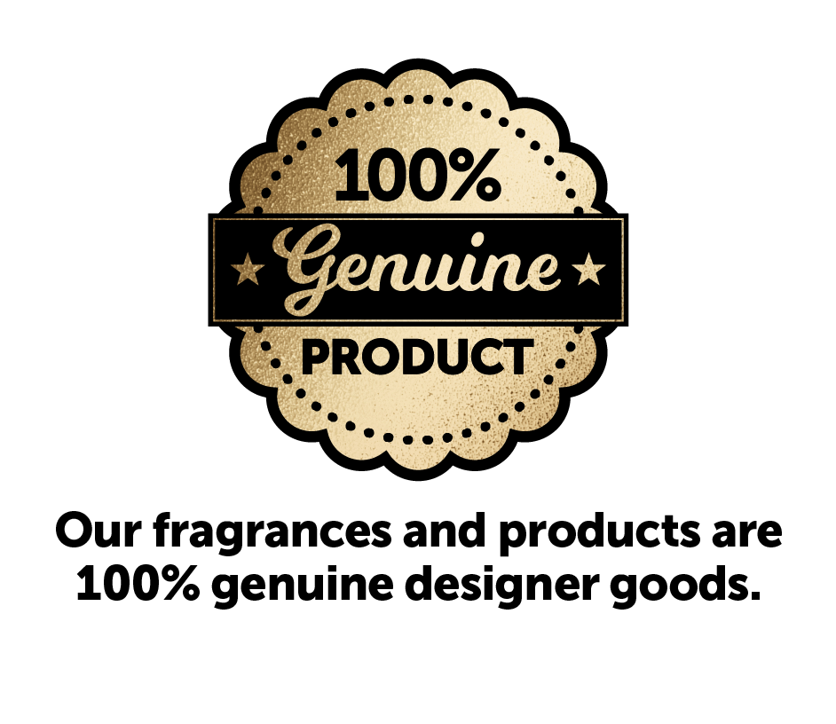 our fragrances and products are 100% genuine designer goods