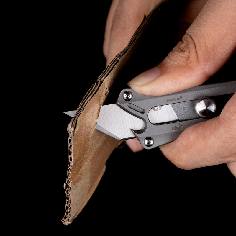 Valor V20 Titanium Utility Pocket Knife