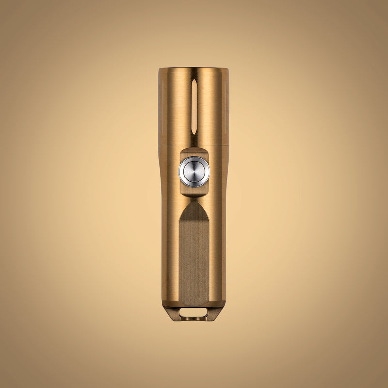 RovyVon Aurora A29 Brass/Cu High CRI EDC Flashlight