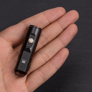Aurora A3 (Upgraded) 6063 Aluminum EDC Keychain Flashlight