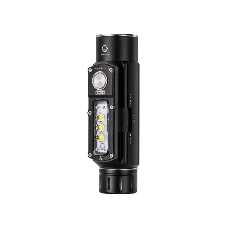 Angel Eyes E700S Multipurpose Powerful Compact LED Work Flashlight