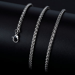 RS10 Titanium Steel Necklace Chain