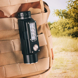 RovyVon Angel Eyes E700U Multipurpose LED Flashlight_Pocket clip