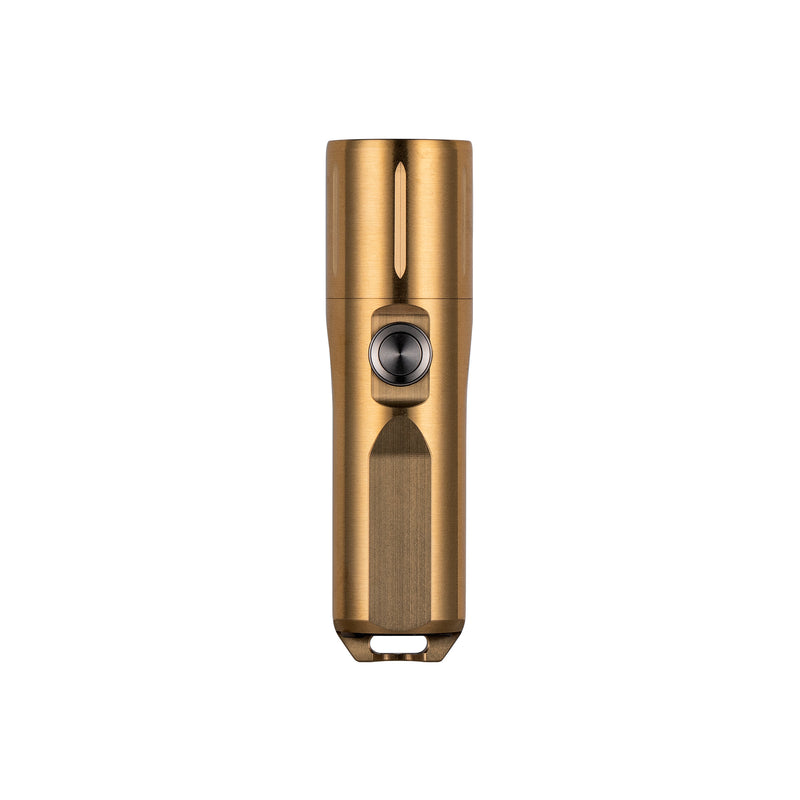 Aurora A29 Cu/Brass Compact High-CRI EDC Flashlight