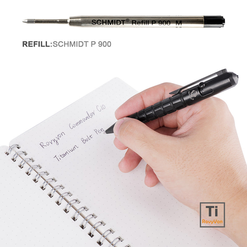 RovyVon Commander C10 Titanium Tactical Pen