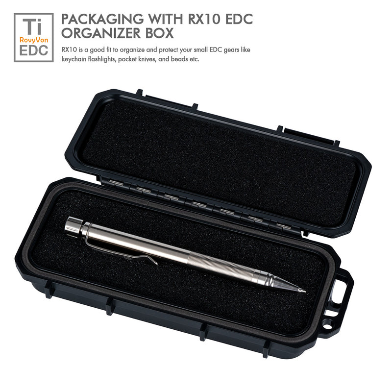 RovyVon Commander C20 Titanium Tactical Pen_Packaging
