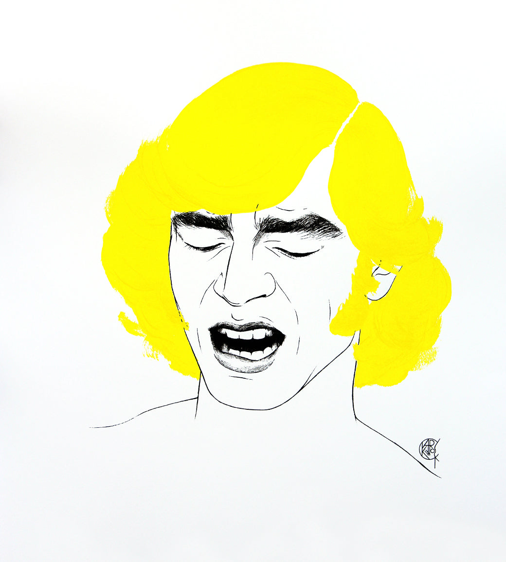Cary Kwok, Cum To Barber (Orgasmic Yellow 1970s), 2016
