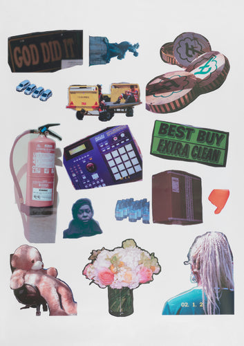 Martine Syms, Threat Model Official Sticker Collection, 2018