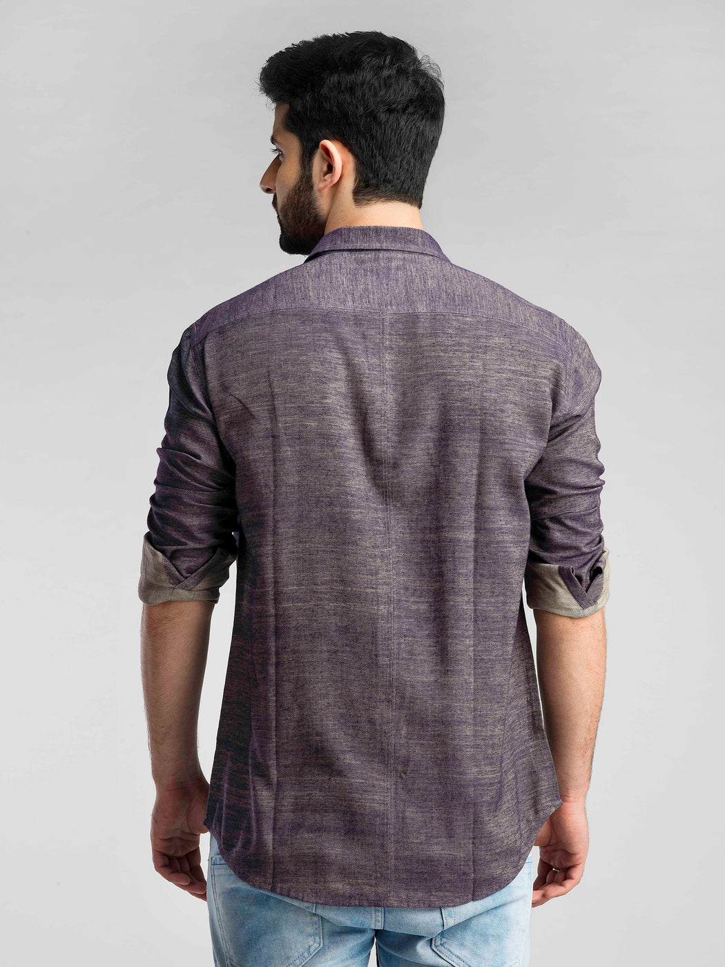 The Orion Shirt - Purple