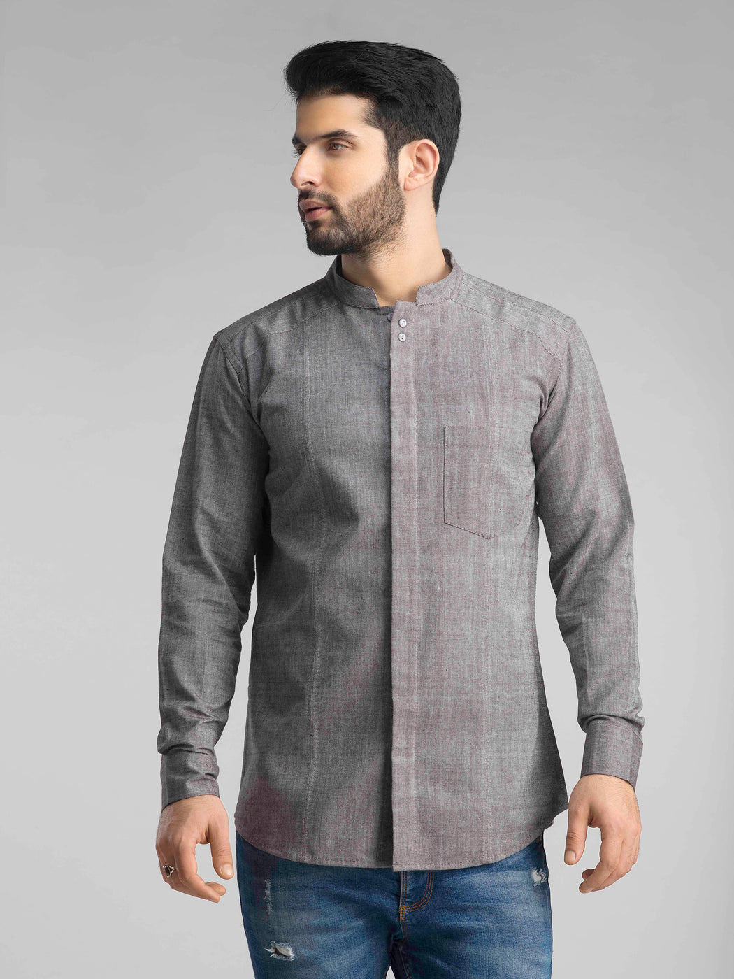 The Orion Shirt - Charcoal