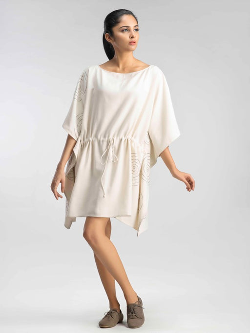 Sweet Cream Kaftan Dress