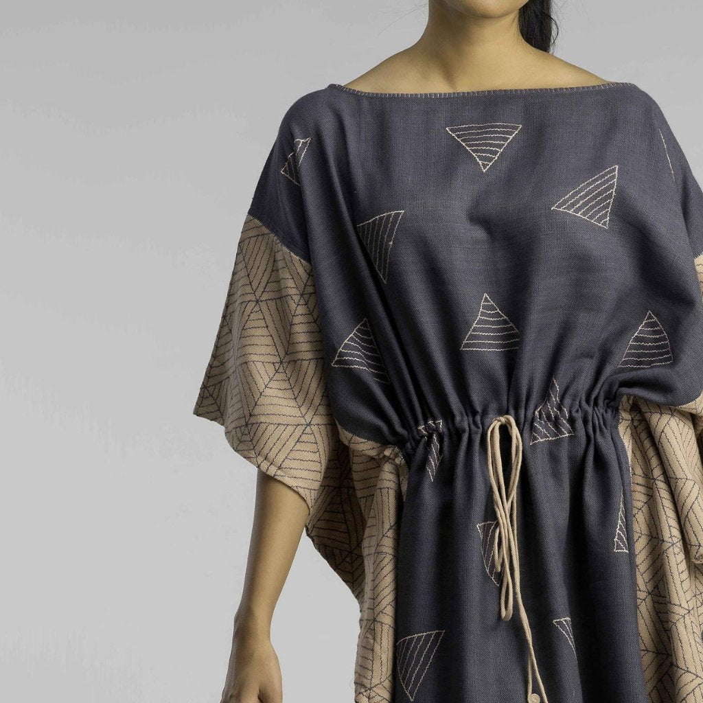 Sky and Earth Kaftan Dress