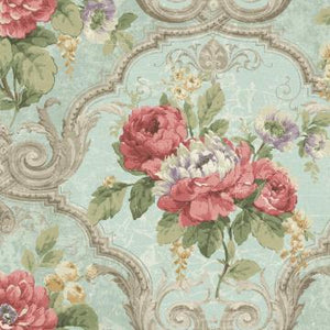 Framed Regal Floral Wallpaper R4834