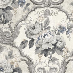 Framed Regal Floral Wallpaper R4835